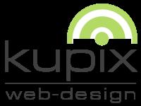 Logo von kupix webdesign