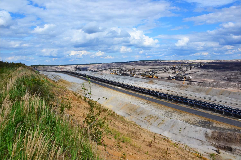 Braunkohlegrube von RWE-Power