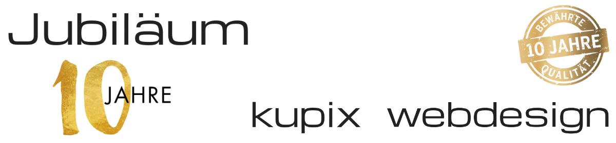 10 Jahre kupix webdesign